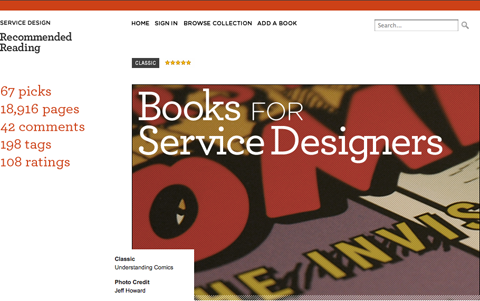Post image for Service Design Books